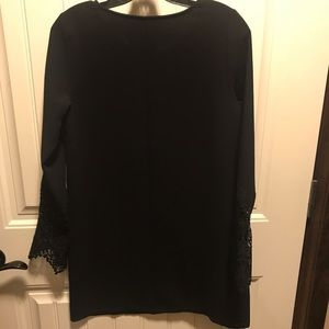 Everly Dresses - Long Sleeve Black Dress